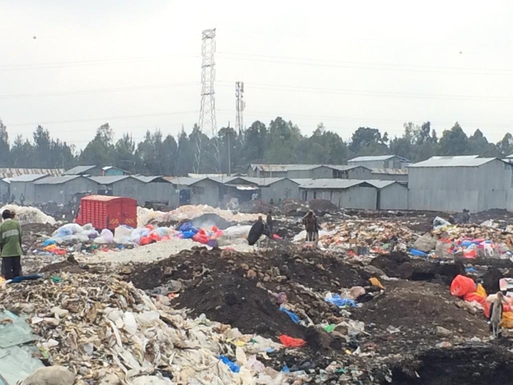Dumping Site Lungalunga slum, Nairobi