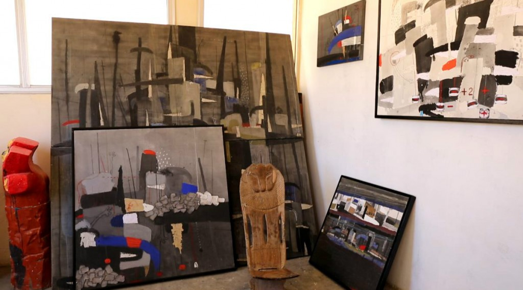 Piniang's studio