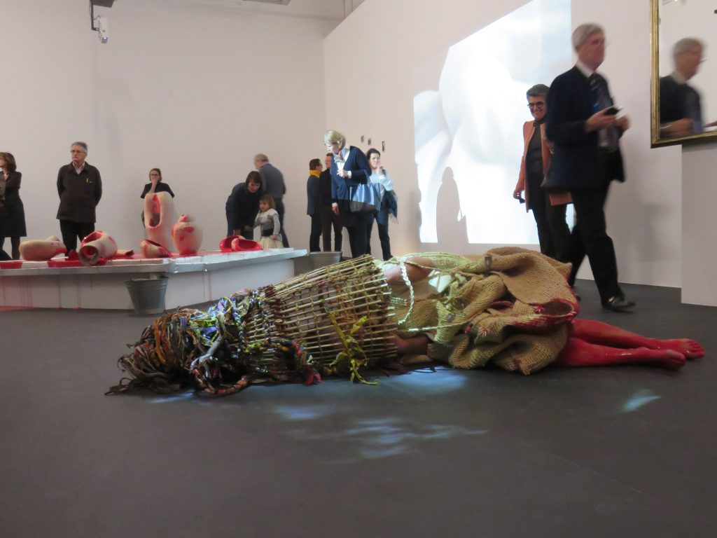 Miriam Syowia Kyambi performs Fracture (i) at WIELS in Brussels