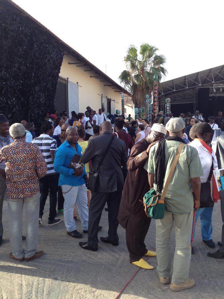 Opening 'International Exhibition' at Village de la Biennale