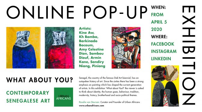 Online pop-up exhibition 'what about you?'